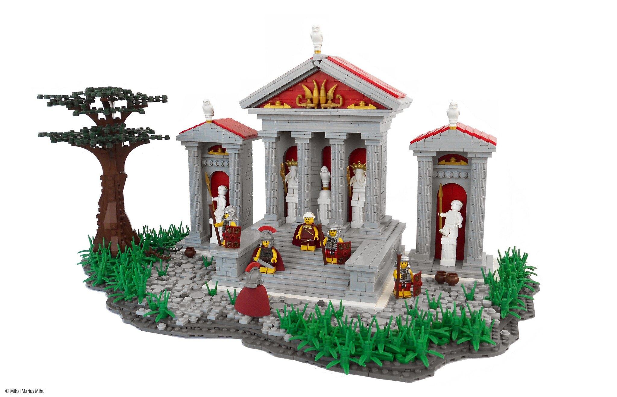 LEGO® MOC by Mihai Marius Mihu: Temple Arrival