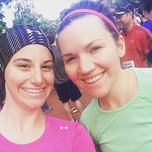 Celebrating the sun's return to DC with @meganerdruns at the #CapitolHillClassic