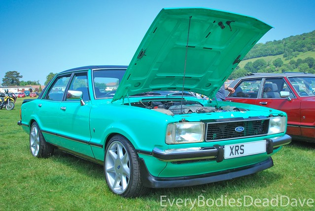 Green Mk4 Ford Cortina