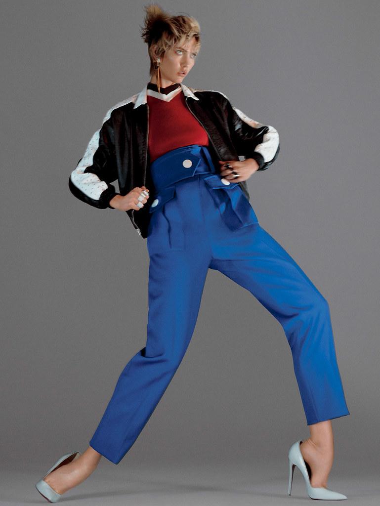 Карли Клосс — Фотосессия для «Vogue» 2016 – 5