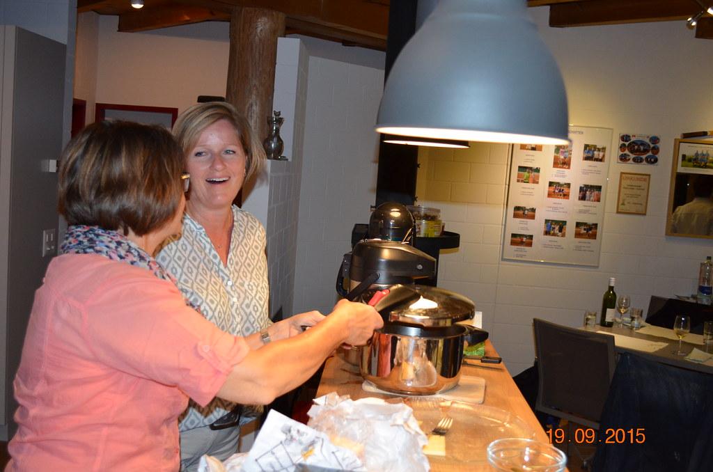 2015: Doppelplausch und Raclette-Essen