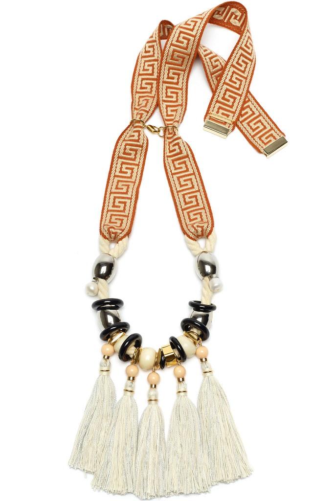 Aztec Fringe Necklace