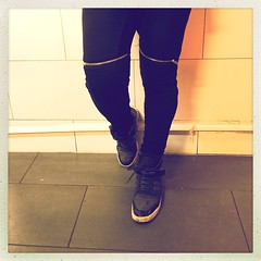 Loving my new #biker #sweats #zara #pants