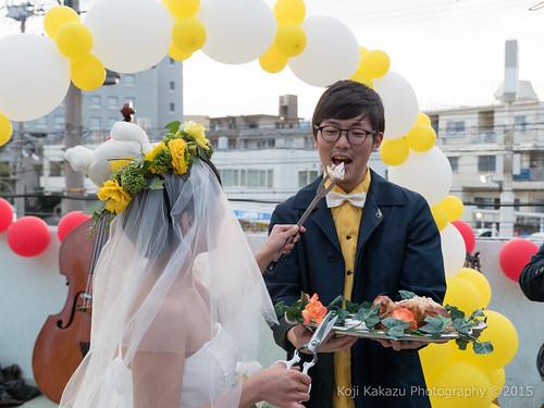 ブエノチキン 路上結婚式-521