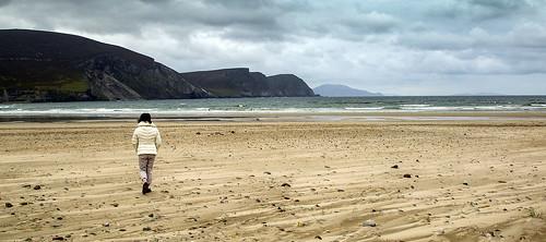 Achill beach walker.