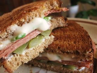 Ham & Cheese Panini // Yves & Daiya