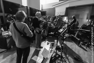 Trevor Horn Band Rehearsals