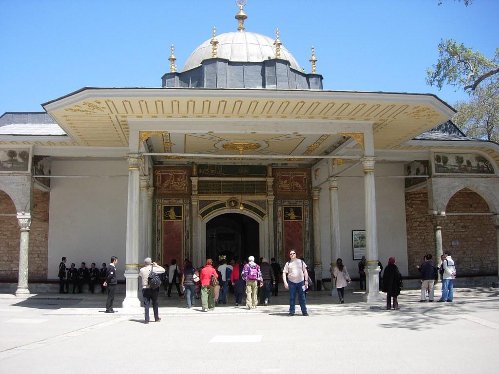 Entrada del palacio de Topkapi