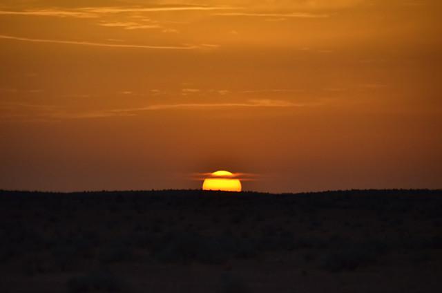 Crepúsculo en Túnez