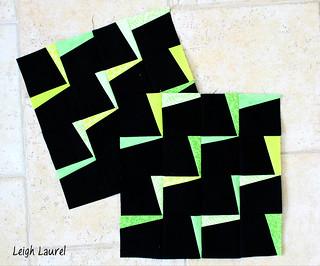 lightning zigzag blocks by karin jordan