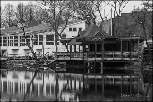 abandoned monochrome blackwhite illinois unitedstates geneva empty highcontrast islandpark millraceinn canonef70200mmf4lisusm canoneos6d