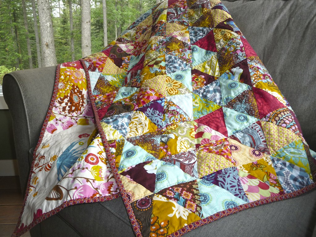 Triangles with Gayle  AKA Anna Maria Horner Quilt