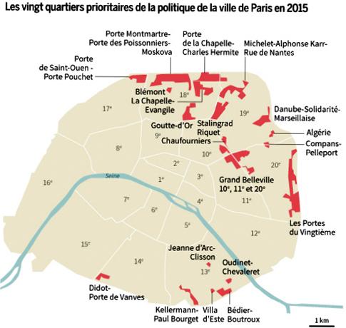 15c16 LMonde Guetos urbanos en París