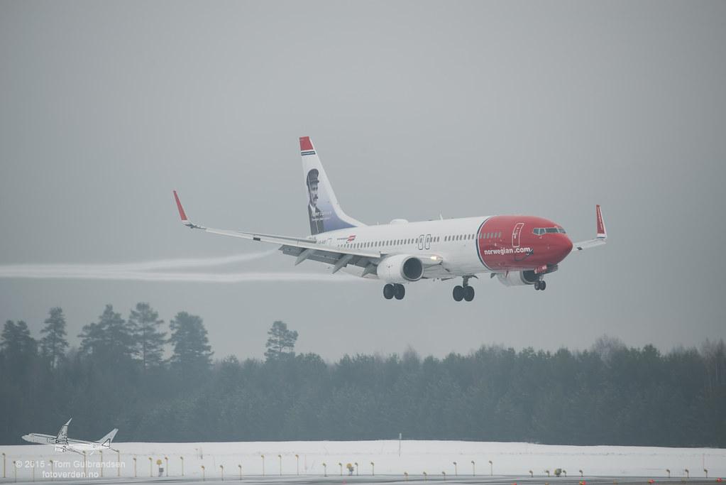 LN-NIB - B738 - Norwegian