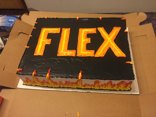 The FLEX debut novel party! WHOOO!