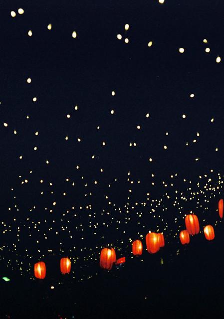 192/365: lanterns and stars