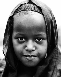Oromo Girl, Ethiopia