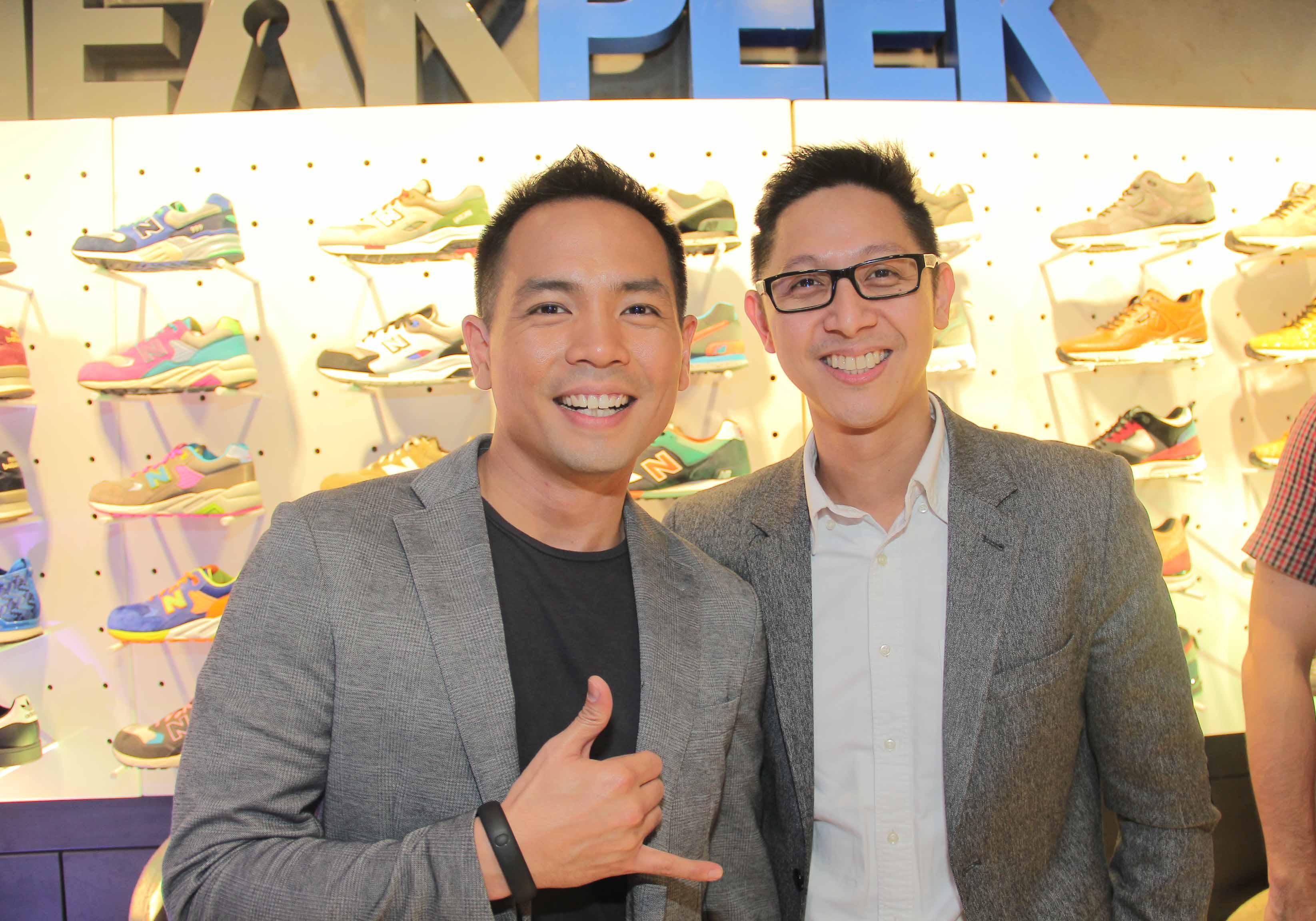 Host Jinno Rufino & PGII's  AVP & SBU Head Toti Wong