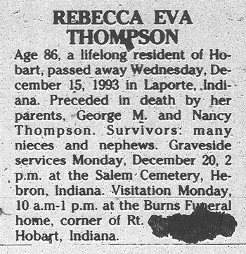 2015-3-10. Eva Thompson death notice