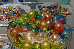 Venice - Murano glass candies