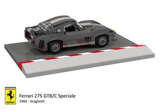Ferrari 275 GTB/C Speciale (1964 - Scaglietti)