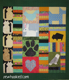 Orphan Block Quilt - Misc Animals and Fun Prints