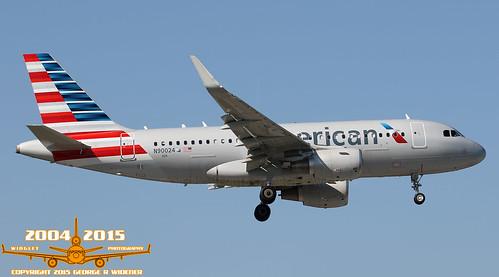 American Airlines Airbus A319-115 N90024 S/N:6384
