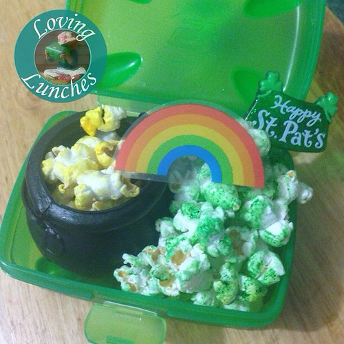 Loving a pot of #popcorn gold at the end of our @kambrookau #FlutterButterPopcornMaker rainbow… @smashenterprises #nudefoodmovers #iloveSMASH #iloveNFM #StPatrick