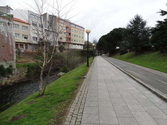 Paseo del Balneario en Arteixo