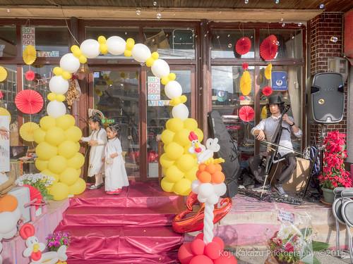 ブエノチキン 路上結婚式-78-2