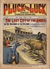 Pluck and Luck Dime Novel Pulp Magazine: The Lost City of the Andes
