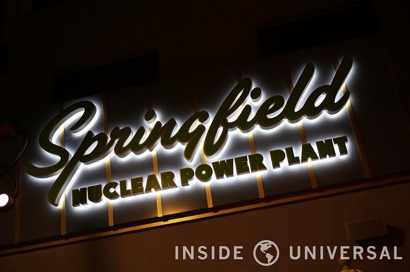 First Look: Springfield at Night at Universal Studios Hollywood