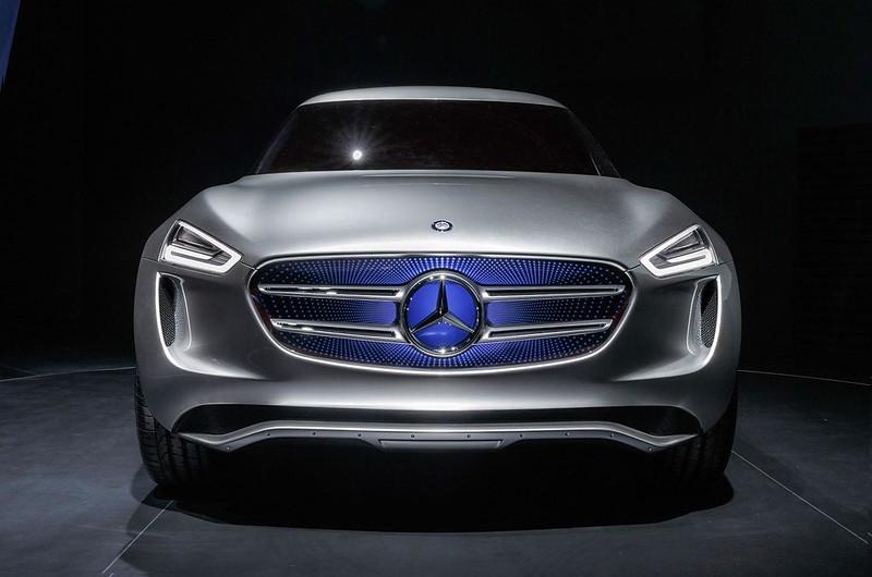 Прототип Mercedes-Benz G-Code. 2014 год