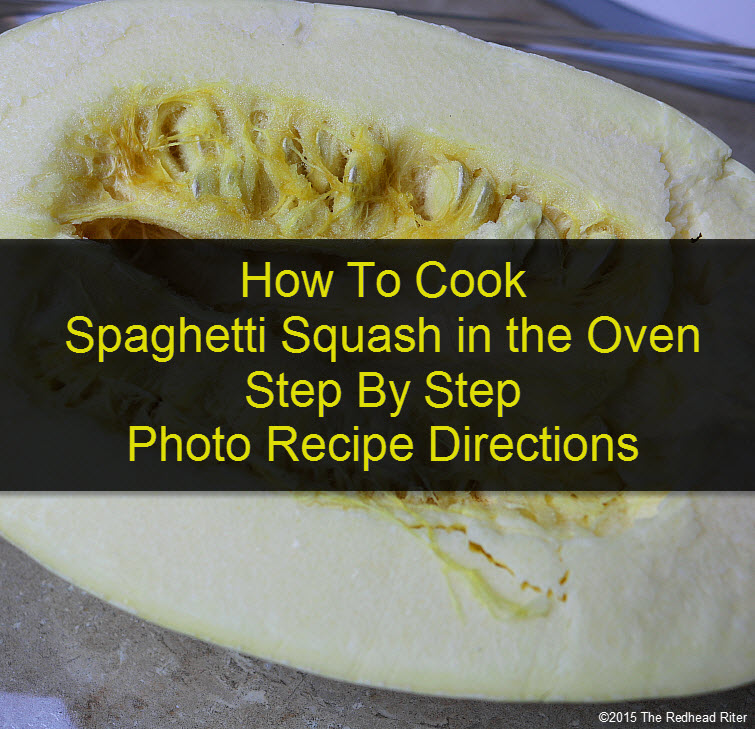 Cook Spaghetti Squash in the Oven tw
