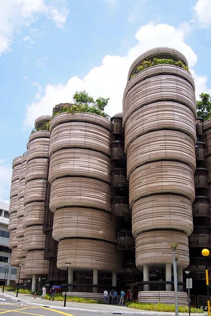 Learning Hub, Nanyang Technological University (NTU) by Heatherwick Studios and CPG Architects