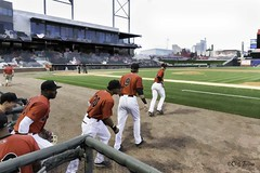 Great Expectations - Emerging from the Dugout for the Top of the First - Game 1, Night 1