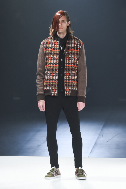 FW15 Tokyo yoshio kubo001_Marcel Castenmiller(Fashion Press)
