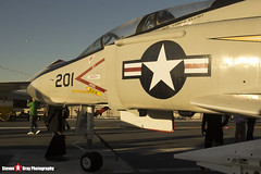 153880 NK-201 - 2466 - US Navy - McDonnell Douglas F-4S Phantom II - USS Midway Museum San Diego, California - 141223 - Steven Gray - IMG_6600