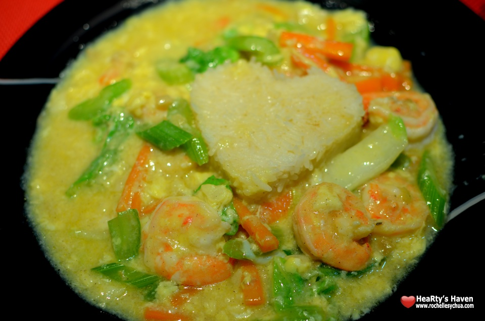 Shrimp & Egg Dish with Rice