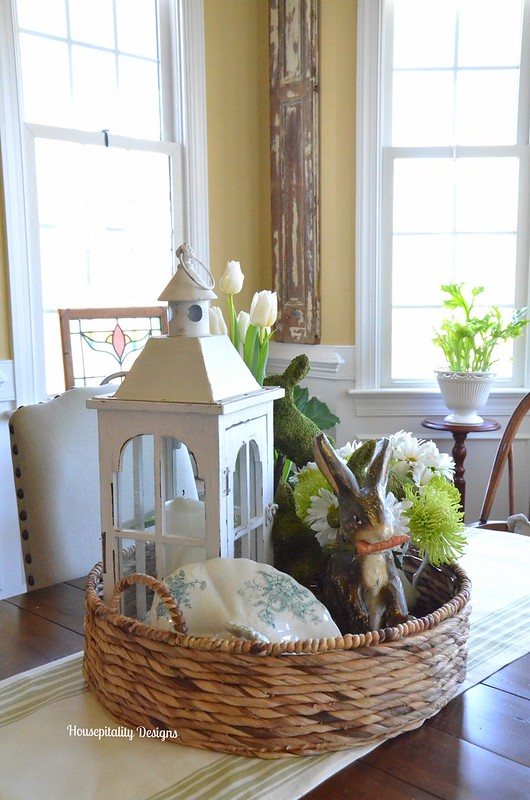Spring Basket Centerpiece-Housepitality Designs