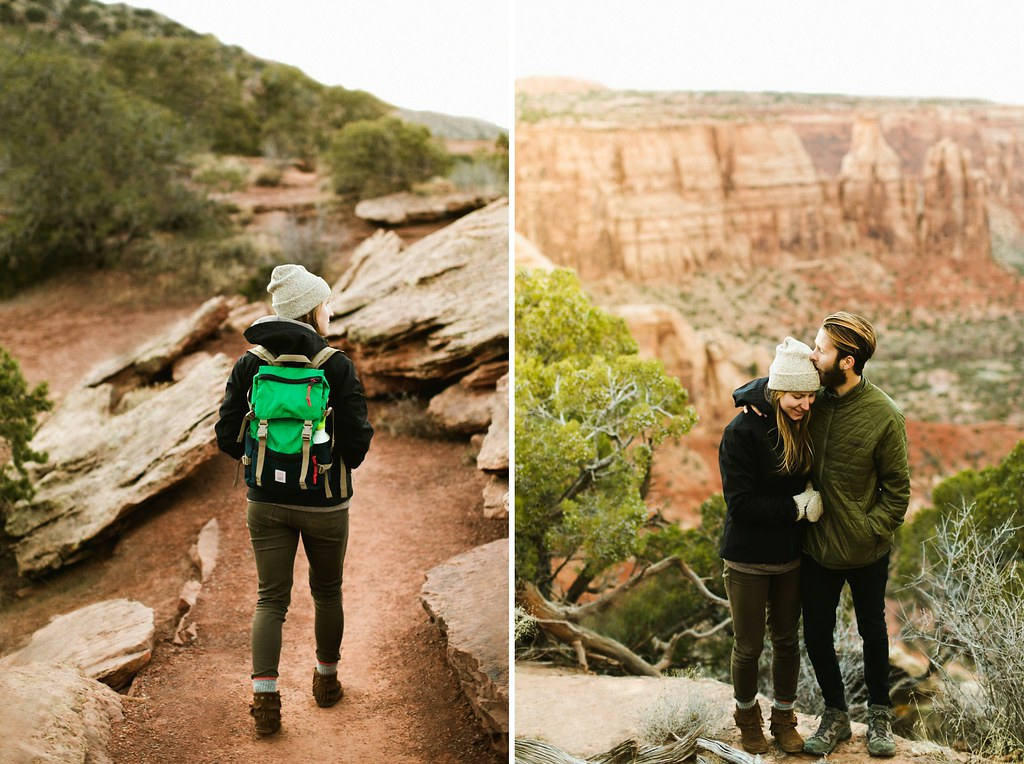 Colorado National Monument Engagement Session