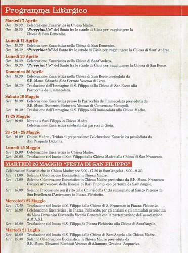 festa san filippo 2015 programma