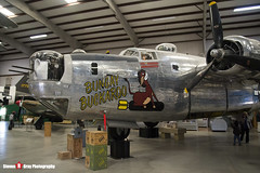HE877 44-44175 - 1470 - Bungay Buckaroo - Indian Air Force - Consolidated B-24J Liberator - Pima Air and Space Museum, Tucson, Arizona - 141226 - Steven Gray - IMG_8964