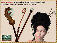 Bliensen - My Precious - Dragonclaw Hair Pins Kopie