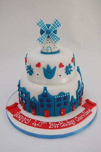 Dutch Themed Cake Beautiful Birthday Cakes