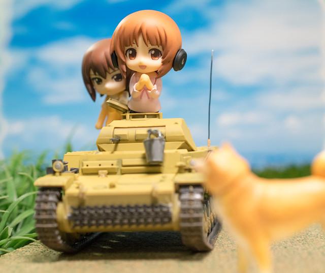 レビュー タミヤ 1/35 ドイツ Ⅱ号戦車 F/G型 <劇場版ガールズ&パンツァー仕様>