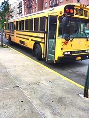 Bluebird All American RE Flatnose Bus, Supertrans NY, Inc. Bus#301. Air Brakes, Air Ride, Radio, AC