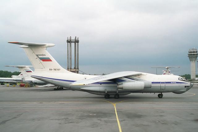 RA-76797 Ilyushin IL-76TD Aeroflot