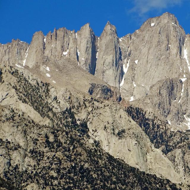 Crooks Peak and Mt Whitney, CA 6-20-16
