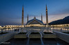 Blue Hour at Faisal Mosque